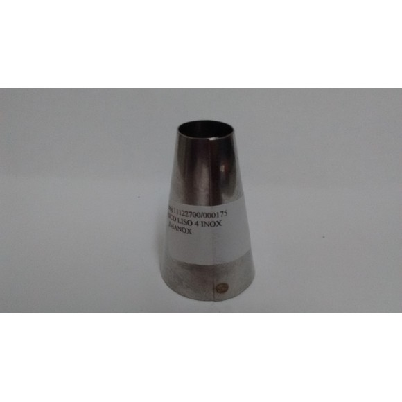BICO CONF.INOX LISO N.4 LIMANOX