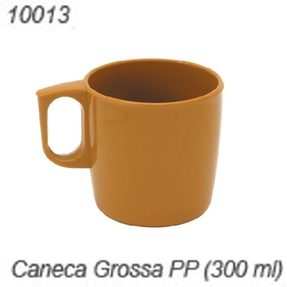 CANECA PLAST 300ML CARAMELO JOLLY