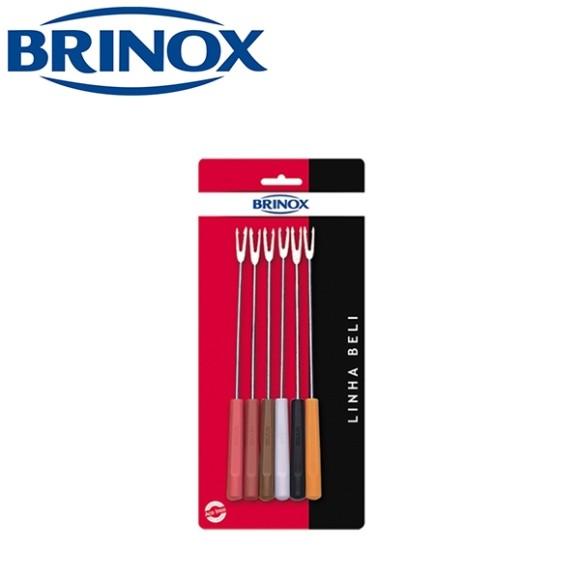 GARFO FONDUE C/6 2051/322 BRINOX